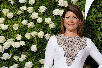 Norah O'Donnell 2017 Tony Awards - Red Carpet