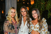 (L-R) Lauren Gores Ireland, Arielle Charnas and Morgan Stewart attend Nordstrom's SOMETHING NAVY Brand Launch Dinner At The Gramercy Park Hotel on September 5, 2018 in New York City.