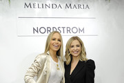 (L-R) Melinda Spigel and Sarah Michelle Gellar attend the Launch of New ICONS Collection hosted by Nordstrom Century City and Melinda Maria Jewelry at Nordstrom Century City on December 05, 2019 in Los Angeles, California.