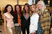 (L-R) Kim Shui, Patricia Field, Nina Garcia, Elizabeth Sulcer and Libby Edelman attend Nordstrom and ELLE Perfect Pairs Cocktail Party at Nordstrom NYC on November 07, 2019 in New York City.