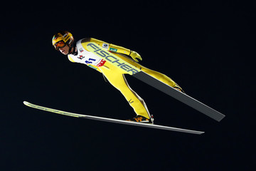 Noriaki Kasai 2017 FIS Ski Jumping World Cup Presented by Viessmann - Training