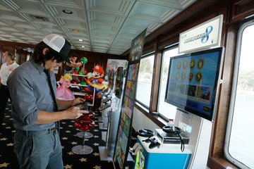 Norman Reedus Nintendo Lounge On The TV Guide Magazine Yacht At Comic-Con #TVGMYacht - Day 3