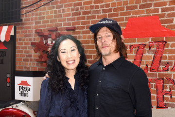 Norman Reedus Angela Kang 2019 Getty Entertainment - Social Ready Content