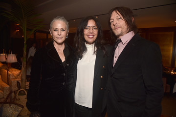 Norman Reedus Melissa McBride Special Screening Of AMC's 'The Walking Dead' Season 10 - After Party