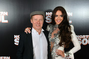 """Charlotte Dawson and Daniel Coll attend the UK Gala screening of """"Northern Soul"""" at Curzon Soho on October 2, 2014 in London, England."""