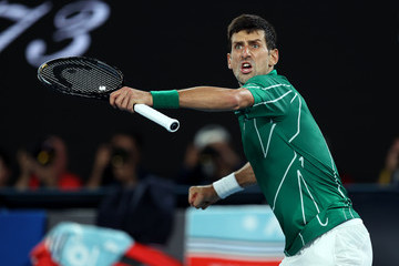 Novak Djokovic European Best Pictures Of The Day - January 30