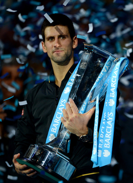 Novak Djokovic - ATP World Tour Finals - Day Eight