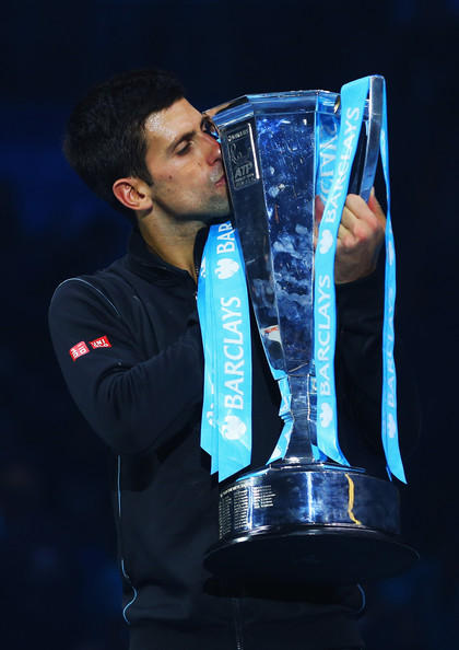 Novak Djokovic - 6 - Page 6 Novak+Djokovic+Barclays+ATP+World+Tour+Finals+VBRIuGlyMDal
