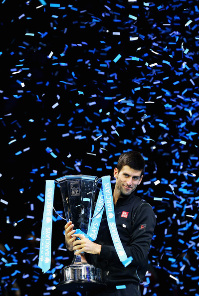 Novak Djokovic - 6 - Page 6 Novak+Djokovic+Barclays+ATP+World+Tour+Finals+XpPilLCod4Kl
