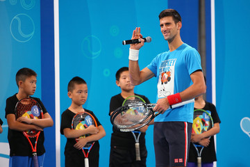 Novak Djokovic 2015 China Open - Day 1