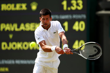Novak Djokovic Day Four: The Championships - Wimbledon 2017
