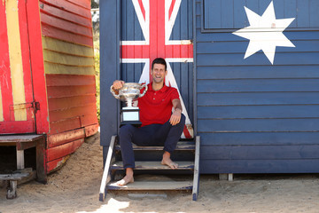 Novak Djokovic European Best Pictures Of The Day - February 22