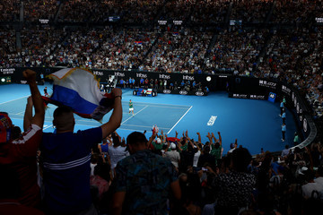 Novak Djokovic 2020 Australian Open - Day 11