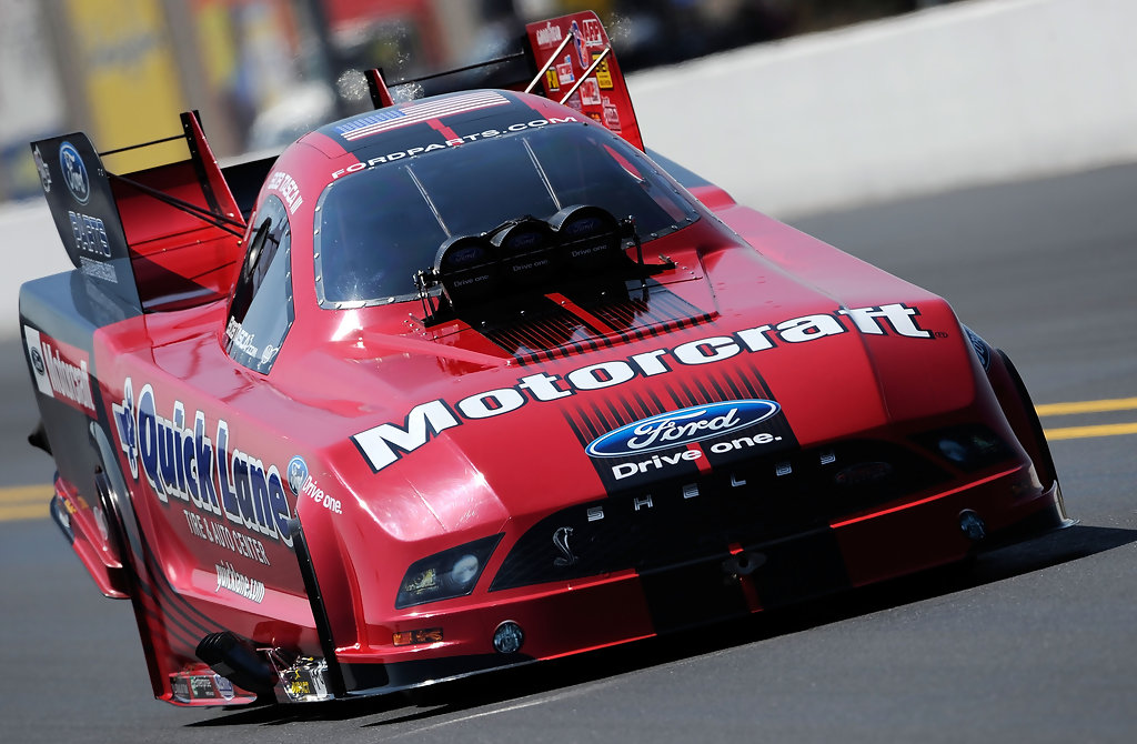 Tasca Ford Parts >> Bob Tasca in O'Reilly Auto Parts NHRA Nationals Qualifying - Zimbio
