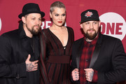 (L-R)  Artists Joel Madden, Jessie J, and Benji Madden attend the ONE Campaign and (RED)Â's concert to mark World AIDS Day, celebrate the incredible progress thatÂ's been made in the fights against extreme poverty and HIV/AIDS, and to honor the extraordinary leaders, dedicated activists, and passionate partners who have made that progress possible. At Carnegie Hall on December 1, 2015 in New York City.