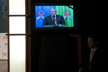 George Bush ONE And (RED) Campaigns Hold 2011 World AIDS Day Discussion