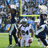 Marshawn Lynch Photos - Marshawn Lynch #24 of the Oakland Raiders reacts as he is stopped on the fourth down during the second half of the game against the Los Angeles Chargers at StubHub Center on December 31, 2017 in Carson, California. - Oakland Raiders v Los Angeles Chargers