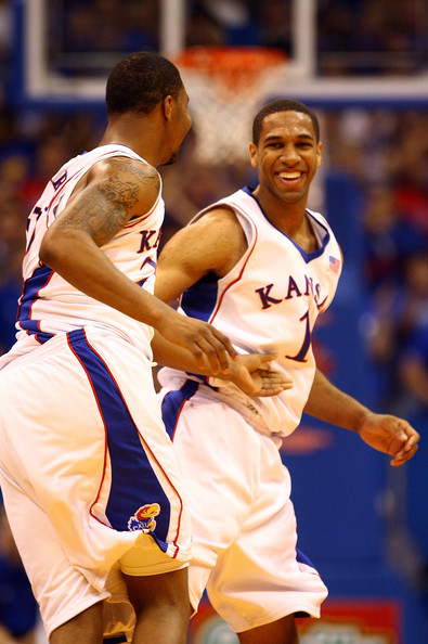oakland v kansas in this photo marcus morris xavier henry xavier henry    Xavier Henry