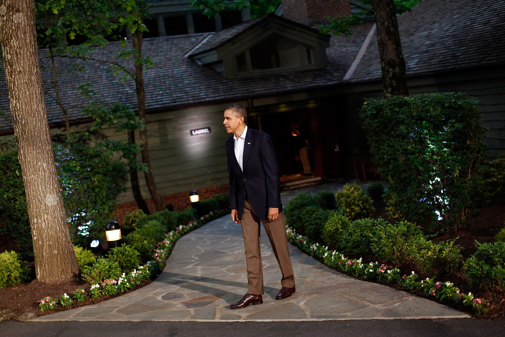 barack obama photos photos obama attends g8 summit at. Black Bedroom Furniture Sets. Home Design Ideas