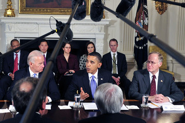 Jim Douglas Obama And Biden Meet With Governors On Energy Policy