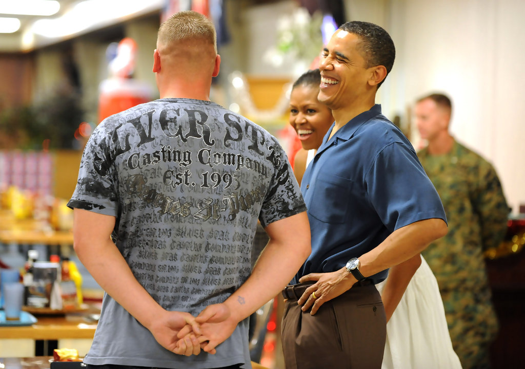 Michelle Obama Photos Photos Obama Family Vacations In