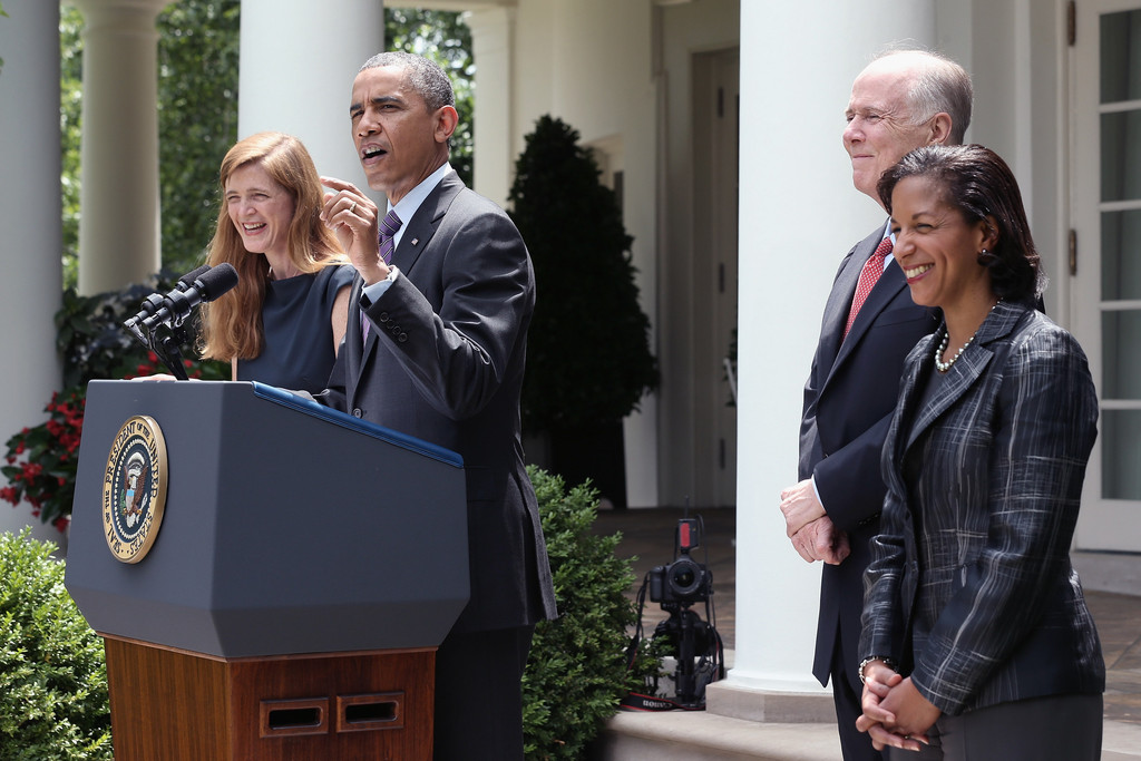Susan Rice Photos Photos - Barack Obama Names Nominates ...