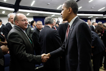 Ed Pawlowski Obama Speaks At White House Forum on Jobs and Economic Growth