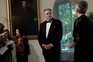 Raymond L. LaHood Obamas Greet Mexican Counterparts As They Arrive For State Dinner