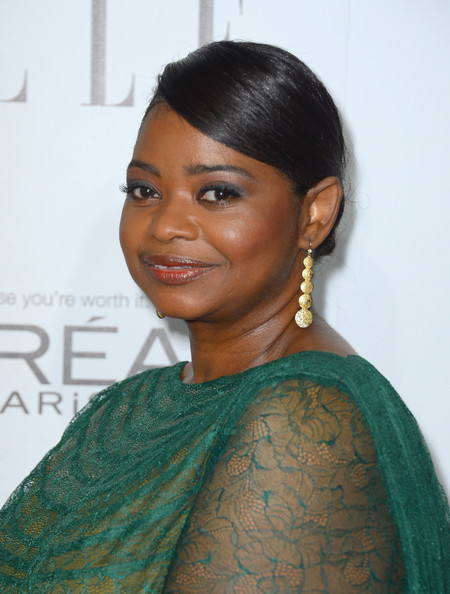 Octavia Spencer Actress Octavia Spencer arrives at ELLE s 19th Annual    Octavia Spencer