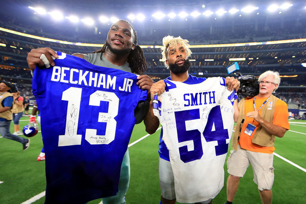 timeless design 32b55 10e37 Odell Beckham Jr and Jaylon Smith Photos Photos - Zimbio