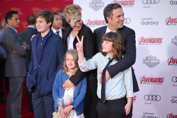 Odette Ruffalo Premiere Of Marvel's 'Avengers: Age Of Ultron' - Arrivals