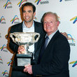 Pete Sampras and Rod Laver Photos