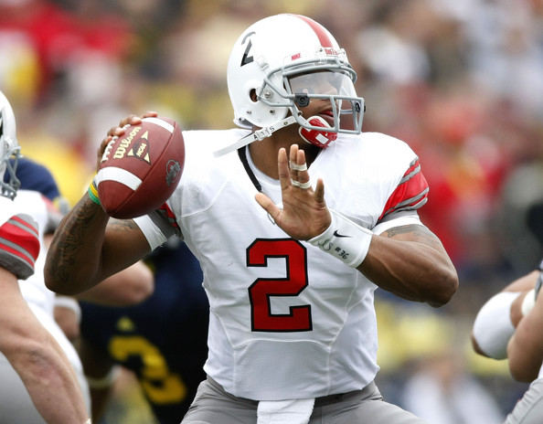 quality design 24862 f56a6 Photo: Ohio State will be in all white uniforms for Michigan ...