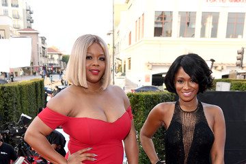 Okera Banks Claire Sulmers 49th NAACP Image Awards - Red Carpet
