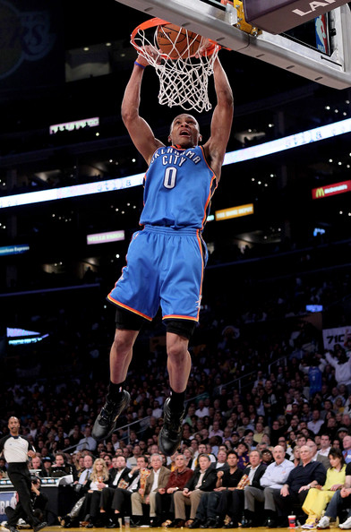 russell westbrook dunking. Russell Westbrook Russell