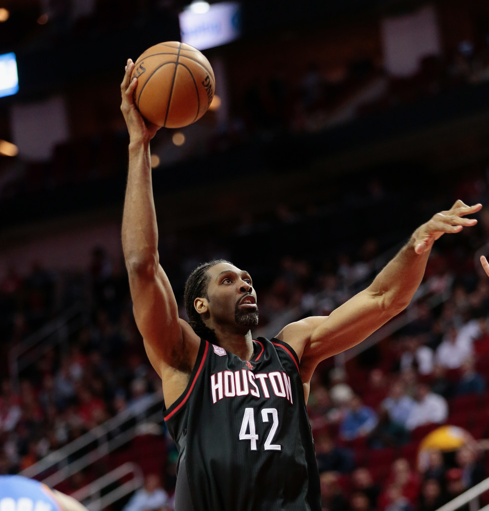 Houston Rockets Vs Okc: Nene Hilario In Oklahoma City Thunder V Houston Rockets