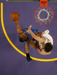 Russell Westbrook Oklahoma City Thunder v Los Angeles Lakers, Game 1