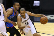 Russell Westbrook and Tony Parker Photos Photo