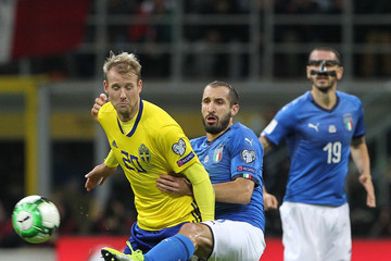 Ola Toivonen Italy v Sweden - FIFA 2018 World Cup Qualifier Play-Off: Second Leg
