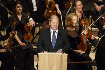 Olaf Scholz New Elbphilharmonie Ceremonial Act and Opening Concert