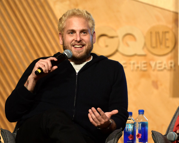 GQ Live - The World Of Jonah Hill With The Cast Of 'Mid90s' [the world of jonah hill,the cast of mid90s,liqueur,event,alcohol,drink,distilled beverage,jonah hill,gq live,cast,neuehouse los angeles,california,hollywood]
