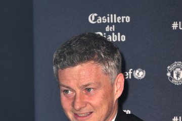 Ole Gunnar Solskjaer United For Unicef Gala Dinner - Red Carpet Arrivals