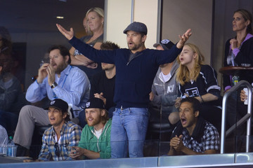 Oliver Hudson 2014 NHL Stanley Cup Final - Game Five