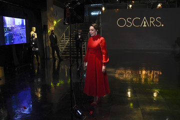 Olivia Colman 93rd Annual Academy Awards - Press Room