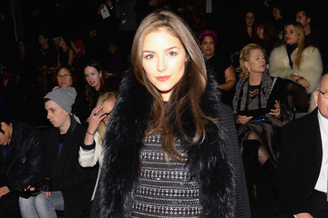 Olivia Culpo Nicole Miller - Front Row - Mercedes-Benz Fashion Week Fall 2014