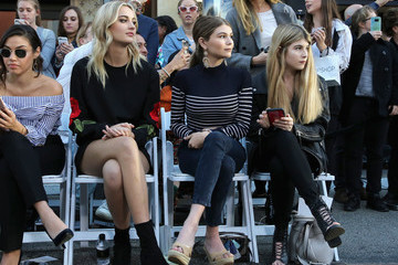 Olivia Giannulli Rebecca Minkoff's 'See Now, Buy Now' Fashion Show in LA
