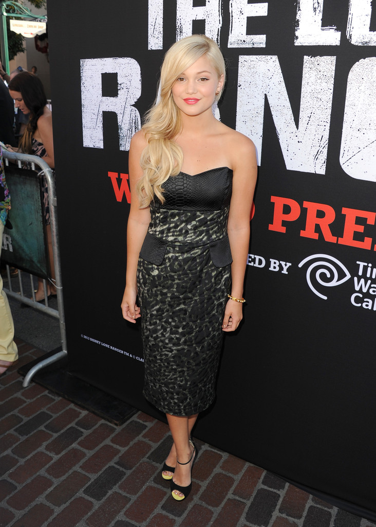 "Olivia Holt - Premiere Of Walt Disney Pictures' ""The Lone Ranger"" - Red Carpet"