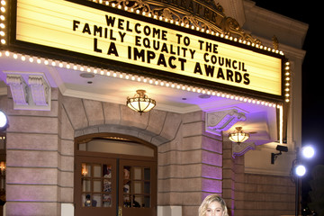 Olivia Holt Family Equality Council's Impact Awards At The Globe Theatre, Universal Studios - Inside