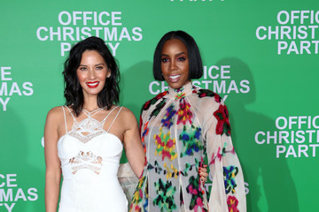 Olivia Munn Office Christmas Party LA Premiere