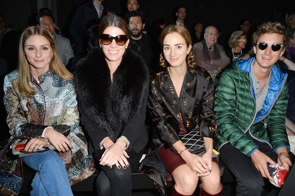 Front Row at Moncler Gamme Rouge